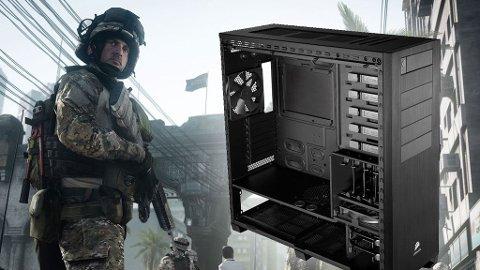 Putt de riktige komponentene inn i PC-en og du kan kjøre de heftigste spillene som for eksempel Battlefield 3.