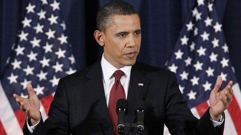 Barack Obama ønsker ikke at Libya skal bli et nytt Irak.