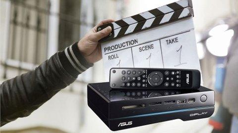 Med en mediespiller kan du samle film, bilder og musikk på ett sted.