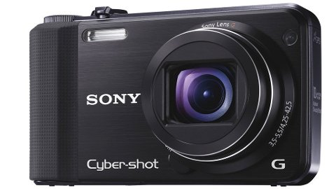 Sony HX7V er et hendig lite kamera med god vidvinkel og lang zoom.