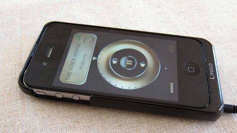 iRis et smart produkt fordi det gir deg DAB-radio og ekstra strøm på iPhone.