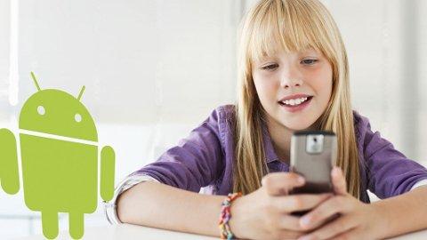 Bipper kan spore ungene ved å bruke telefonens innebygde GPS-mottaker.