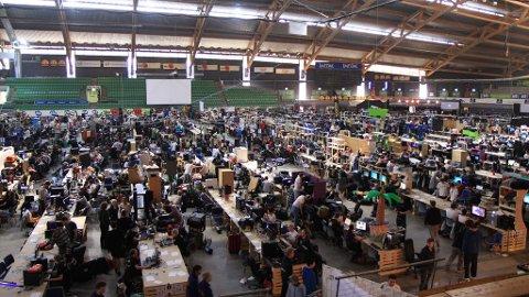 The Gathering 2011 i Vikingskipet på Hamar.