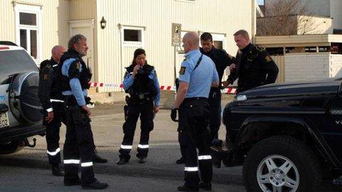 GJENGOPPGJØR: 15-16 ungdommer barket sammen i slagsmål i Porsgrunn i natt.
