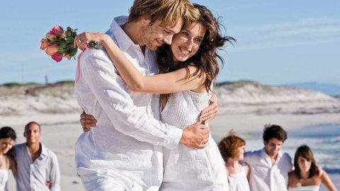 1 av 5 par gifter seg i utlandet og gjerne på eksotiske destinasjoner.