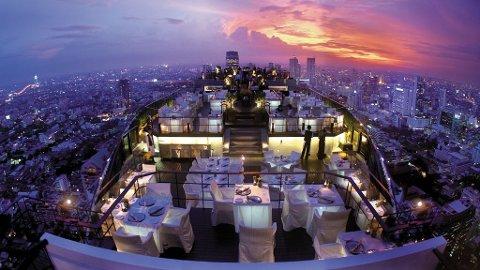 Smakfull sjømat og byens beste utsikt gjør Vertigo til en sikker vinner.