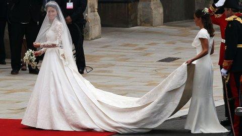 VAKKER: Kate Middleton var vakker på sin store dag. Men andre bruder ønsker å ha sin egen stil.