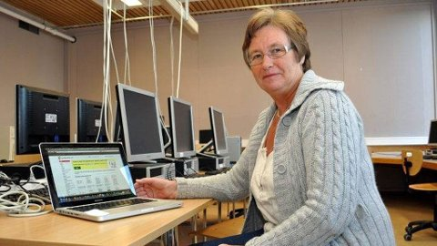 AVSLØRTE JUKS: Tove Karsten Oplenskdal, lærer ved Skien videregående, betalte og logget seg inn på studienett.no. Slik avslørte hun elever som hadde plagiert tekster.