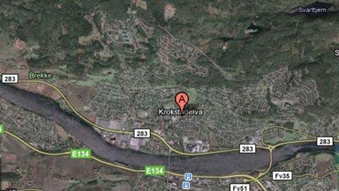 Mannen er meldt savnet fra sin bolig i Krokstadelva.