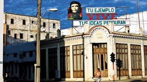 Che er fremdeles Cubas fremste symbol, og det ikoniske bildet av ham er å se overalt.