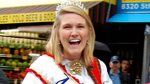 JENNIFER EGERBERG (19) var årets Miss Norway i toget.
