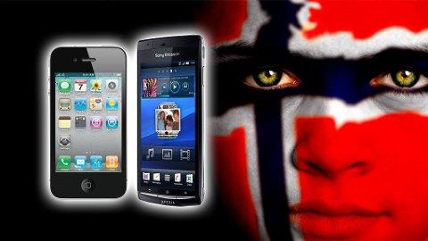 Mobilapplikasjoner er en svært viktig del av nordmenns mobilvaner.