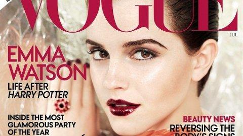 EN MER voksen Emma Watson pryder forsiden av Vogue.