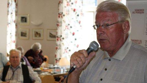 Carl I. Hagen talte på Heracleum bo- og eldresenter i Tromsø tirsdag.