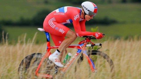 Edvald Boasson Hagen Team Sky tempo 3. etappe Criterium Dauphine