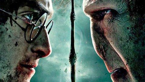 Den første plakaten for den aller siste Harry Potter-filmen.
