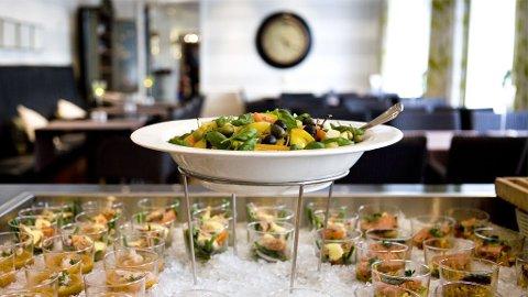 På Clarion Collections hoteller serveres både frokost- og kveldsbuffet.