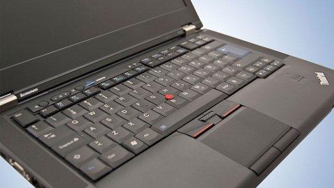 Forretningsfolk på farta, som trenger en sikker og robust bærbar, vil like ThinkPad T420.