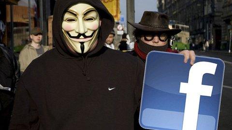 Anonymous hevder at årsaken til det varslede angrepet er Facebooks personvernpolitikk.