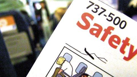 Faktainformasjon om fly og flygning er nyttig, men ikke nok for folk med sterk flyskrekk.