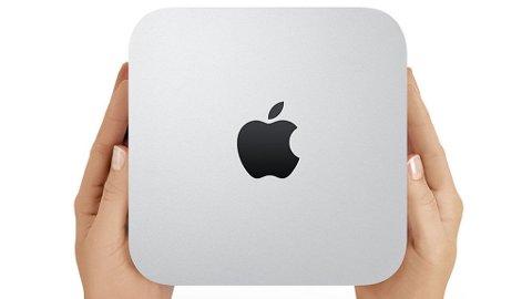 Apples nye Mac mini er en liten stasjonær maskin det bare er å koble til skjerm, tastatur og mus før du starter opp.