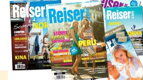 Du kan vinne blant annet årsabonnement på Reiser & ferie om du kommer til standen vår på Tjuvholmen på lørdag.
