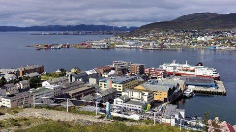 Utsikt over Hammerfest.