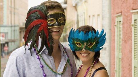 Mardi Gras er et av verdens mest kjente karneval.