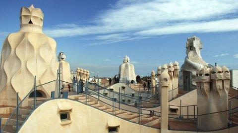 Arkitektur er stikkord for Barcelona.