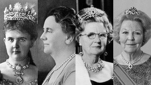 Siden 1890 har kvinnene regjert Nederland: Emma som dronningregent, deretter dronningene Wilhelmina, Juliana og Beatrix.
