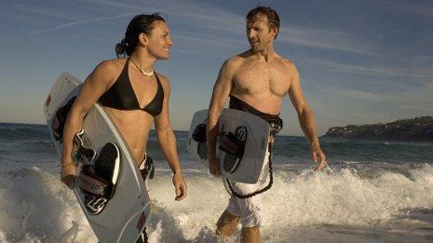 Kitesurfing eller surfing er bare noe av det du kan gjøre i Sydney og omegn.