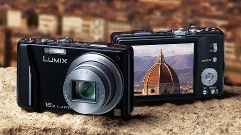 REISEVENN: Panasonic TZ20 er et kjapt kamera, masse funksjoner og middels bildekvalitet