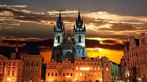 Praha er nesten som en eventyrby.