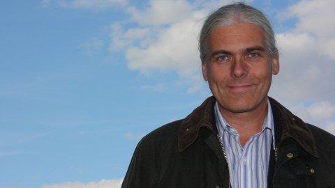 Christian Hintze Holm (SV) er ordførerkandidat i Nesodden kommune.