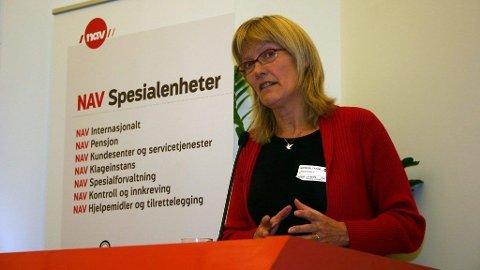 Karin Andersen i NAV.