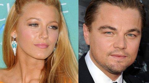 SLUTT: Blake Lively og Leonardo DiCaprio går ut av forholdet som venner, ifølge stjernenes talsmenn.