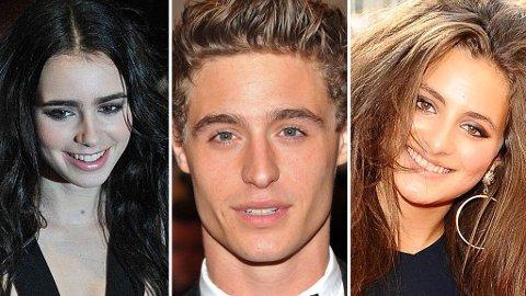 LILY COLLINS, Max Irons og Lily Atkinson likner ikke så veldig på sine mer berømte fedre.