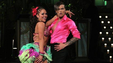 Atle Pettersen og dansepartner Marianne Sandaker.