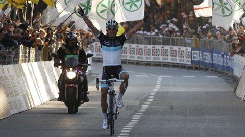 Oliver Zaugg (Leopard-Trek) vinner Lombardiet rundt.