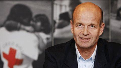 Sven Mollekleiv, president i Norges Røde Kors.