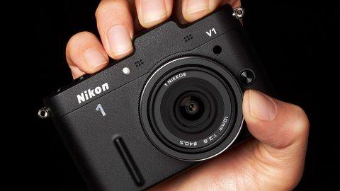 Nikon V1 er toppmodellen blant Nikons nye speilløse systemkameraer.