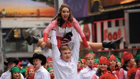 Macy's parade er en av opplevelsene du kan få med deg om du feirer Thanksgiving i New York.