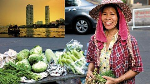 Du får alltid et smil med på kjøpet i Thailand.