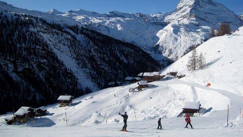 Vinnertipset i vår konkurranse om beste skisted er fra Zermatt i Sveits.