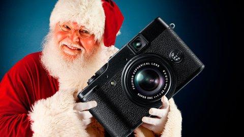 Har du vært snill i år? I så fall er du kanskje så heldig å få et kamera til jul.