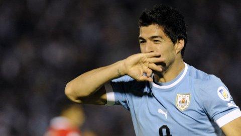 Luis Suarez for Uruguay