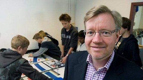 Sommerskolens far Byråd for kultur og utdanning i Oslo, Torger Ødegaard (H), er klar for nok en sommer med skole.