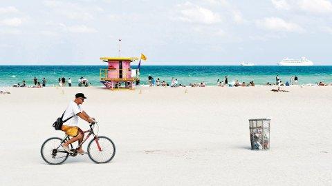 Strendene i Florida er mange, brede og har plass til mange, men det føles sjeldent fullt.