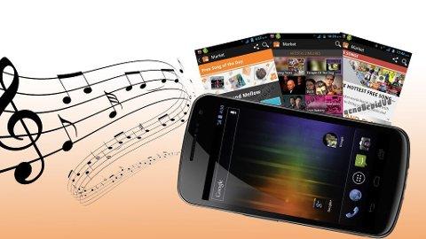 Google Music vil bli tilgjengelig gjennom Android Market, men foreløpig bare i USA.
