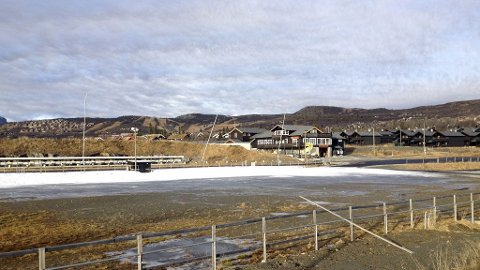 Snømangel på Beitostølen før verdenscupåpningen i langrenn.